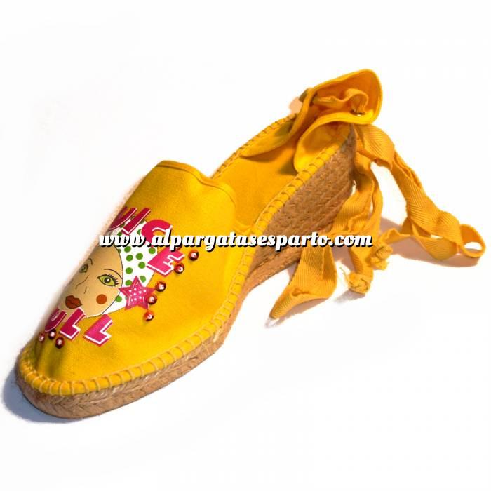 Imagen Amarillo Mujer valenc. Diseño CH2267 Amarillo Talla 37