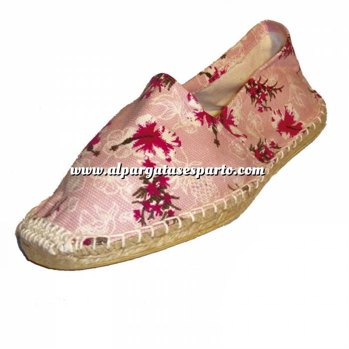 Imagen Flores Rosas ESTM - Estampada Mujer Flores Rosas Talla 41