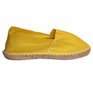 Imagen 430_CLASM Alpargata Clásica cerrada Mujer Amarillo Talla 35