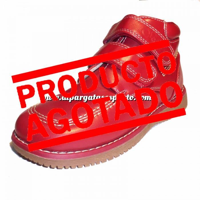 Imagen Rojo BTIN Botín niño en piel Rojo Talla 31