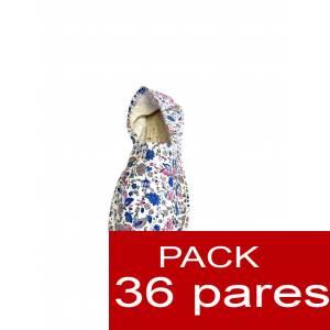 Imagen Mujer Estampadas Alpargata estampada FLORES MODELO A2 Caja 36 pares (Últimas Unidades)