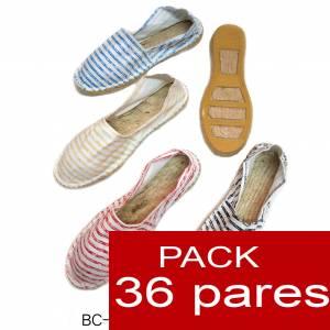 Mujer Estampadas - Alpargata estampada RAYAS VINTAGE Caja 36 pares - OFERTA ULTIMAS CAJAS (duplicado) (duplicado)