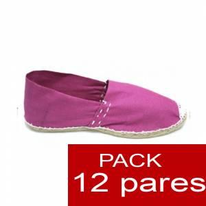 Para Niño - Alpargatas Niño color FUCSIA LOTE de 12 uds (tallas 28-34)